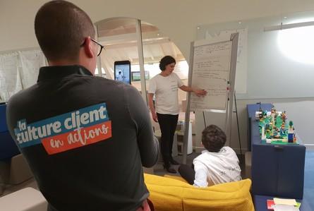 atelier idéation design thinking maison du client